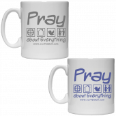 Guy Penrod Coffee Mug- Pray About Everything